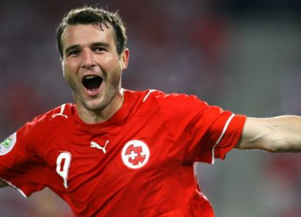 <p>Frei: Scored 53 goals in 72 games for Basel</p>