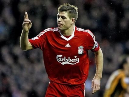 <p>Gerrard: Scored 2 in the 2006 FA Cup FInal</p>
