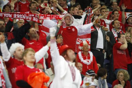 <p>Denmark: loving the underdog role</p>